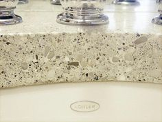 white concrete counter top | concrete countertops