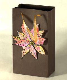 Gift Bags are Simple to Make and are Ideal for Rubber Stamping