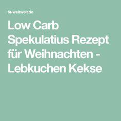 Low Carb Spekulatius Rezept für Weihnachten - Lebkuchen Kekse