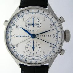 Van Der Gang  l First Limited Edition nr 007/250 l Watch l Dutch Innovations l Dutch l The Netherlands