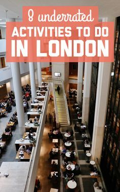 8 underrated activities to do in London! / A Globe Well Travelled