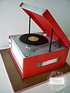 Record players for cars vintage