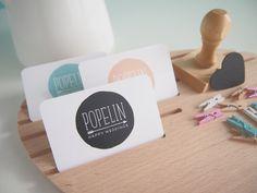 TARJETAS DE VISITA | Popelin | Happy Weddings www.popelinhappyweddings.com