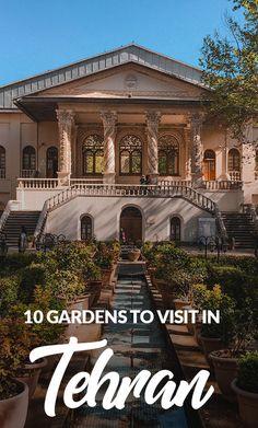 12 Historic Gardens you should visit in Tehran, Iran! Iran Travel, Asia Travel, Cool Places To Visit, Places To Go, Visit Iran, Shiraz Iran, Teheran, Eastern Countries, Tehran Iran