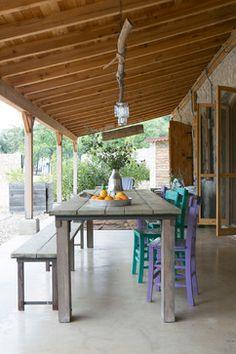 From old olive mill to Luxury holiday villa, Datca Turkye - mediterranean - patio - amsterdam - Rozenkelim