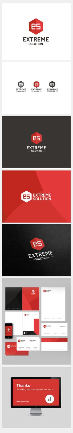 Extreme Solution brand on Behance