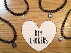 Tutorial: Tattoo Choker Necklaces