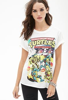 TMNT Graphic Tee | FOREVER21 - 2000118402