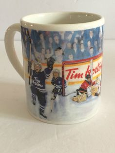 Tim Horton Mug The Winning Goal Collectible Coffee Cup Limited Edition #TimHorton