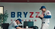 CHICAGO -- Homeruns are Kris Bryant and Anthony Rizzo's business, and business is good.  The Cubs superstarsouvenir company, Bryzzo, is back for Major League Baseball's ongoing ad campaign.  The video featuresthe dynamic duo along with teammates Addison Russell, Javy Baez, Ben Zobrist, and Kyle Schwarber.