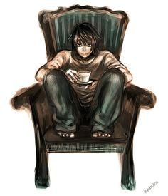 ❥ L Lawliet || (♡_♡) || Death Note