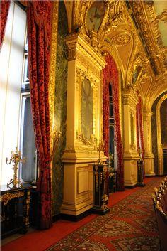 Musée du Louvre; The Apartments of Napoleon III - Paris, France