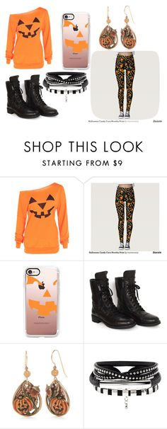 """""""Jack-O-Lantern!"""" by pcgcooper-1 on Polyvore featuring Casetify, Chanel and Silver Forest"""
