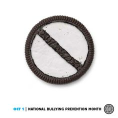 In honor of National Bullying Prevention Month, Nabisco's Oreo launched a new campaign. We have to hand it to them – the company's been very proactive about … Oreo Treats, Oreo Cookies, Stop Bullying, Anti Bullying, Oreos, Cookie Factory, Bullying Prevention, Food Out, Kraft Recipes