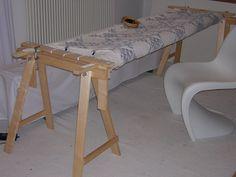 DIY quilting frame    Quilt Frame with VIKAR ARTUR by Redwork in Germany, via Flickr