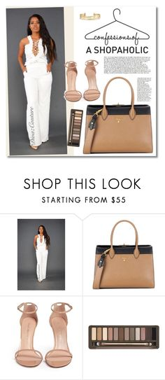 """""""Lily - Divaz Couture"""" by merima-kopic ❤ liked on Polyvore featuring Prada, Stuart Weitzman, Urban Decay and Stella & Dot"""