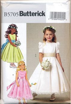 Image result for flower girl dress patterns