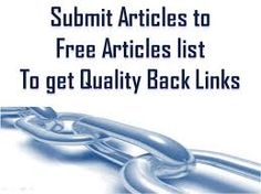 An article submission  and article submission sitesis a website with collections of articles written about your product and business. Article submissions are referred to content farms, which are website and content created to our business and company.