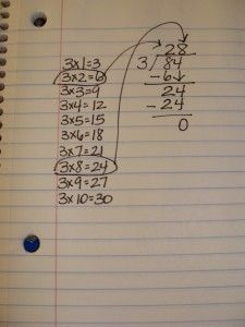 A struggle for many students when learning long division is their lack of fluency with multiplication facts. To help students adapt to learning the process of long division, allow them to write the… Teaching Long Division, Math Division, Multiplication And Division, Teaching Math, Math Help, Fun Math, Math 2, Teacher Blogs, Teacher Hacks