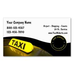 256 Best Taxi Business Cards Images Business Cards Carte De