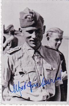 Hauptmann Alfred Grislawski JG 52, JG 53, JG1 - 109 Luftsiege