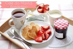 Salto e Avental: Café da manhã Romântico - Especial dos namorados