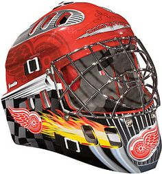 To sit on my shelf.....Franklin NHL Detroit Red Wings Youth Street Hockey Goalie Mask - Shop.NHL.com