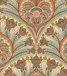 Upholstery Fabric-Tommy Bahama Outdoor TBO Crescent Beach Coral