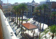 La Plaza de las Monjas de Huelva