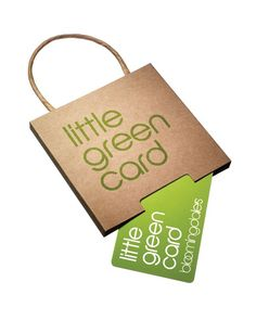 Only at Bloomingdale's Little Green Gift Card with Box - $300