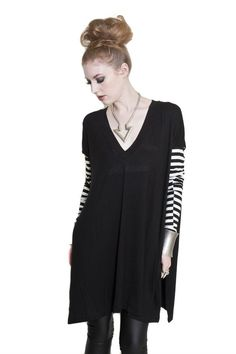 Vent Tee Vee Tunic (Out of Stock) - BABOOSHKA BOUTIQUE - 2