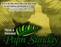 Wish your friends a blessed Palm Sunday ! #blessed #palmsunday