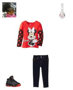 """""""Fall time-rain"""" by mindless-loyalty2 on Polyvore featuring Retrò, Disney, Beats by Dr. Dre and 7 For All Mankind"""