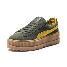 7bbd9e9cdf6f FENTY Puma x Rihanna Women s Cleated Creeper Suede Platform Sneakers Shoes  - Bloomingdale s