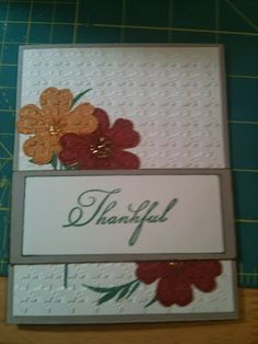 Stampin' Up! Card by Confessions of A Proverbs 31 Wannabe