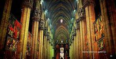 The beautiful interior facade of #Duomo di #Milano. #travel #architecture #cathedral