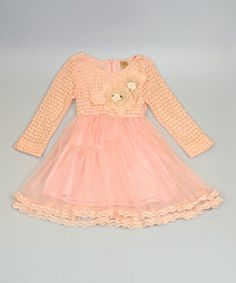 Take a look at this Pink Lace & Tulle Dress - Toddler & Girls by Mia Belle Baby on #zulily today!