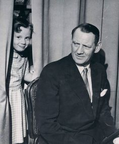 Pss Benedikte and father, King Frederick IX of Denmark.