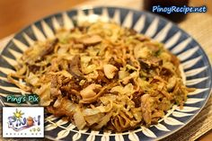 Filipino Foods And Recipes - Pinoy foods at its finest.: Bam-i (Pancit Bisaya) Recipe Filipino Soup Recipes, Filipino Dishes, Pork Recipes, Cooking Recipes, Filipino Food, Noodle Recipes, Bisaya Recipe, Pinoy Recipe, Malunggay Recipe