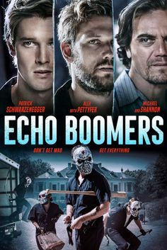 Watch Movie Echo Boomers Online Streaming 2020 - Echo Boomers Movie Online Streaming Based on a true story, five college graduates decide the best way to get back at the unfair economy and live the life they've always wanted is to steal from Chicago's richest and give to themselves. #movies #movie #actionmovies #action_movies Alex Michael, Michael Shannon, Action Movies To Watch, Patrick Schwarzenegger, Maze Runner Movie, Alex Pettyfer, Free Tv Shows, 2020 Movies, Drama Film