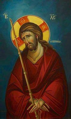 Christ the Bridegroom Catholic Pictures, Jesus Pictures, Byzantine Art, Byzantine Icons, Religious Icons, Religious Art, Christian Artwork, Russian Icons, Christian Symbols