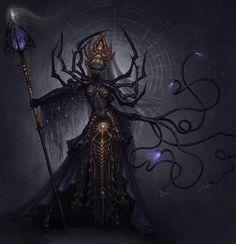Drow high priestess