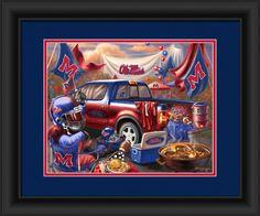 f39edf0e8e79 Mississippi Rebels Tailgate Print 15