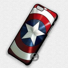 Captain America's Shield The Avengers - iPhone 7 6 5 SE Cases & Covers