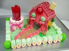 Casa hecha con chucherías