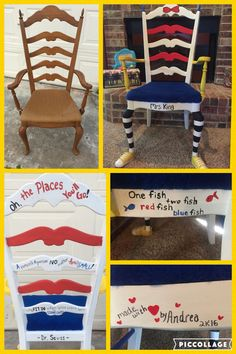 Dr Seuss Chair Made For My Besties Classroom❤️