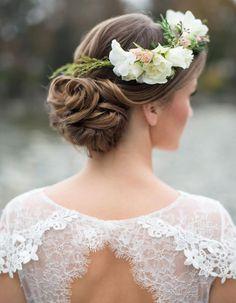 Coiffure mariée : les plus belles coiffures de mariée tendance en 2016 - Elle