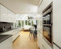 Unique ALNO UK alnouk This high gloss white ALNOART PRO kitchen was designed