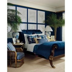 LOVE this color. Ralph Lauren 1-gal. Great Harbour Semi-Gloss Interior Paint-RL1931S - The Home Depot