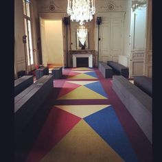 #Valentino The show space is ready and waiting for you. Watch the show today live at 17.30 CET. Lin... http://ift.tt/1J83UMP